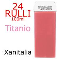 Kit 24 Rulli Ceretta Epilatoria Liposolubile 100ml - TITANIO