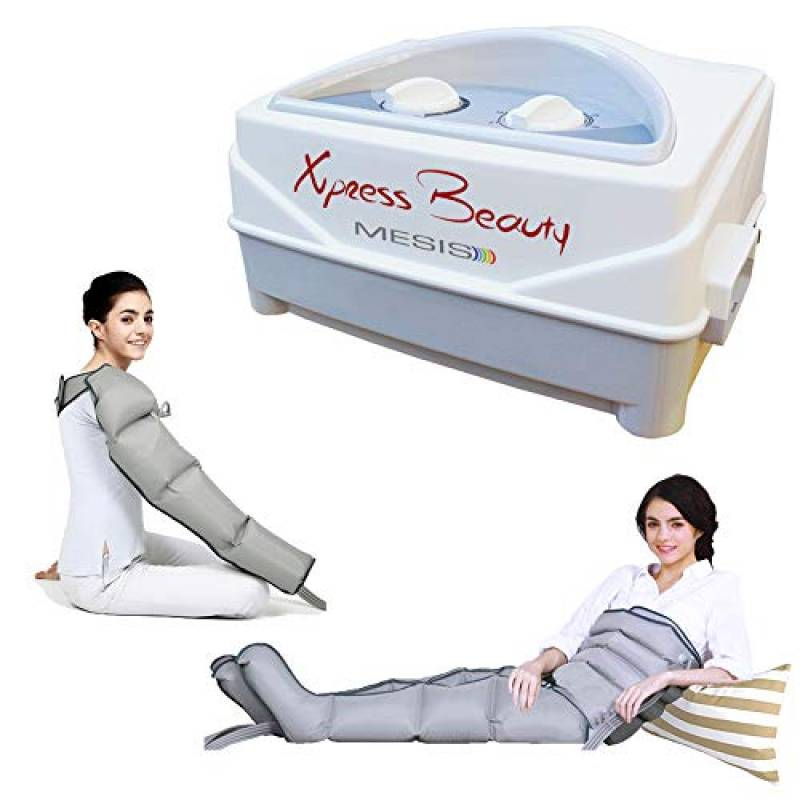 Mesis  Pressoterapia estetica  Xpress Beauty con 2 gambali, Kit Slim Body e Bracciale