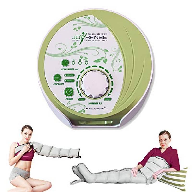 Pressoterapia estetica PressoEstetica MESIS JoySense 3.0 ® con 2 gambali + Kit estetica + Bracciale