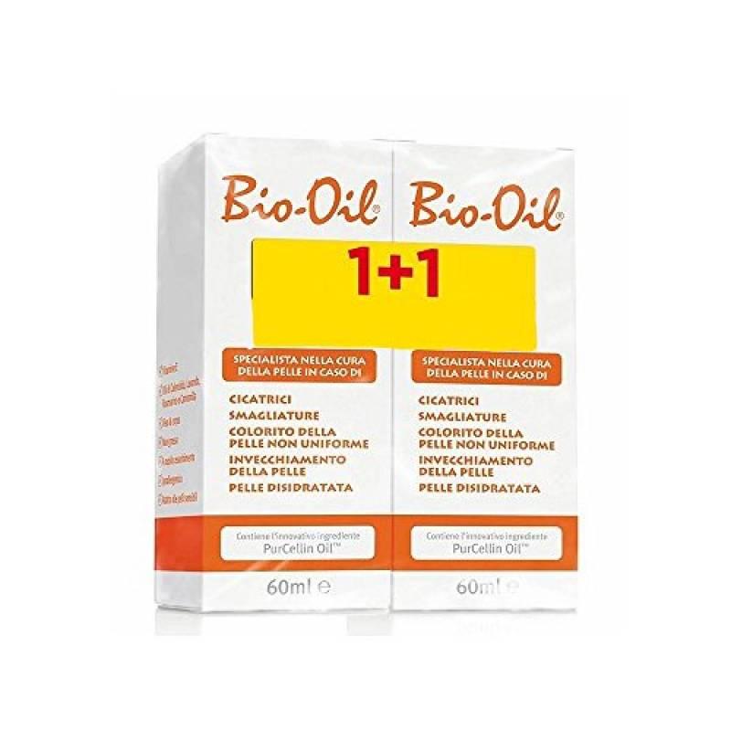 Bio-Oil Corpo Anti Invecchiamento Smagliature Cicatrici bi-pack 2 x 60ml