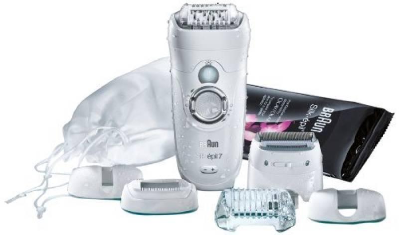 Braun Silk-épil 7 SE7681 epilator - Epilatore Wet & Dry con 5 accessori